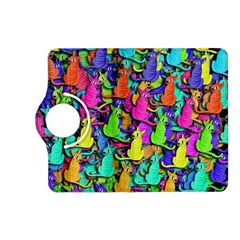 Colorful cats Kindle Fire HD (2013) Flip 360 Case