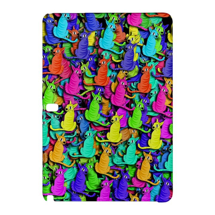 Colorful cats Samsung Galaxy Tab Pro 12.2 Hardshell Case