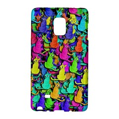 Colorful cats Galaxy Note Edge