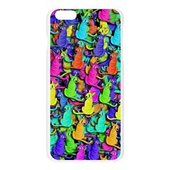 Colorful cats Apple Seamless iPhone 6 Plus/6S Plus Case (Transparent)
