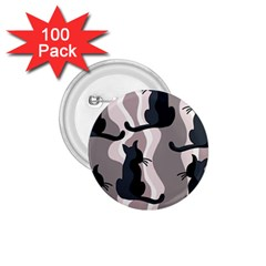 Elegant cats 1.75  Buttons (100 pack)