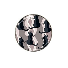 Elegant cats Hat Clip Ball Marker (4 pack)