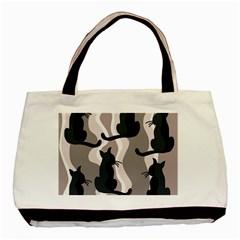 Elegant cats Basic Tote Bag (Two Sides)