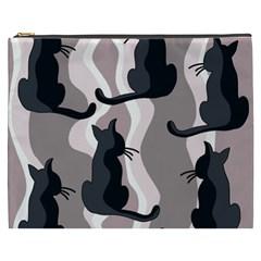 Elegant cats Cosmetic Bag (XXXL)