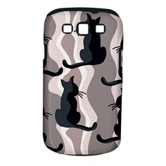Elegant cats Samsung Galaxy S III Classic Hardshell Case (PC+Silicone)