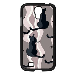Elegant cats Samsung Galaxy S4 I9500/ I9505 Case (Black)