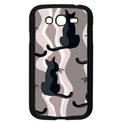 Elegant cats Samsung Galaxy Grand DUOS I9082 Case (Black)