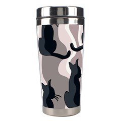 Elegant cats Stainless Steel Travel Tumblers