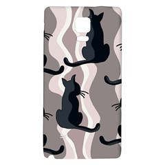 Elegant cats Galaxy Note 4 Back Case