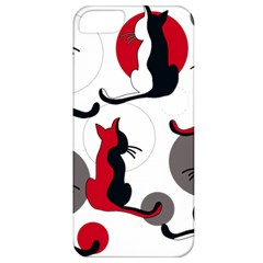 Elegant abstract cats  Apple iPhone 5 Classic Hardshell Case