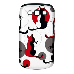 Elegant abstract cats  Samsung Galaxy S III Classic Hardshell Case (PC+Silicone)