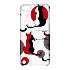 Elegant abstract cats  Apple iPod Touch 5 Hardshell Case with Stand