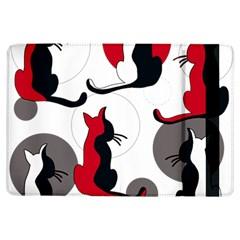 Elegant abstract cats  iPad Air Flip