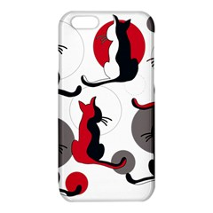 Elegant abstract cats  iPhone 6/6S TPU Case
