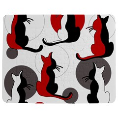 Elegant abstract cats  Jigsaw Puzzle Photo Stand (Rectangular)