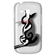 Elegant abstract cat  Galaxy S3 Mini