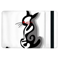 Elegant abstract cat  iPad Air Flip