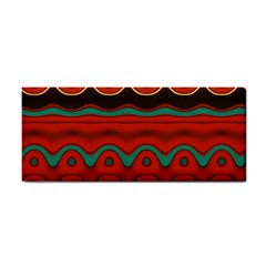 Orange Black and Blue Pattern Cosmetic Storage Cases