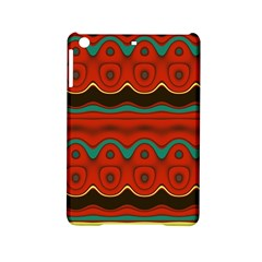 Orange Black and Blue Pattern iPad Mini 2 Hardshell Cases