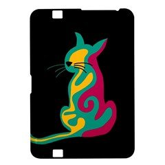 Colorful abstract cat  Kindle Fire HD 8.9