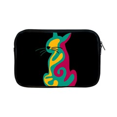 Colorful abstract cat  Apple iPad Mini Zipper Cases
