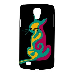 Colorful abstract cat  Galaxy S4 Active