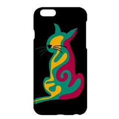 Colorful abstract cat  Apple iPhone 6 Plus/6S Plus Hardshell Case