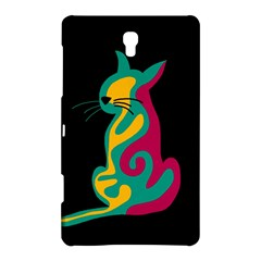 Colorful abstract cat  Samsung Galaxy Tab S (8.4 ) Hardshell Case