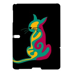 Colorful abstract cat  Samsung Galaxy Tab S (10.5 ) Hardshell Case