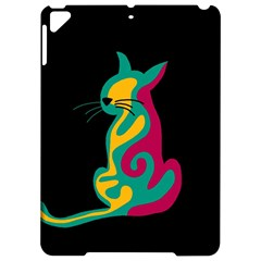 Colorful Abstract Cat  Apple Ipad Pro 9 7   Hardshell Case