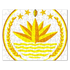 National Emblem of Bangladesh Rectangular Jigsaw Puzzl