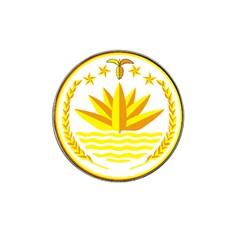 National Emblem of Bangladesh Hat Clip Ball Marker (4 pack)