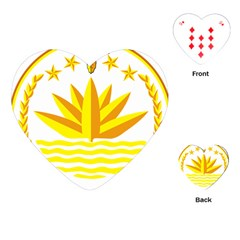 National Emblem of Bangladesh Playing Cards (Heart)