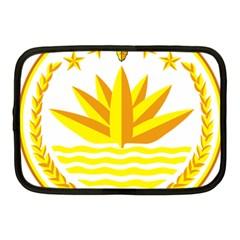 National Emblem of Bangladesh Netbook Case (Medium)