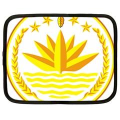 National Emblem of Bangladesh Netbook Case (Large)