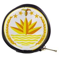 National Emblem of Bangladesh Mini Makeup Bags