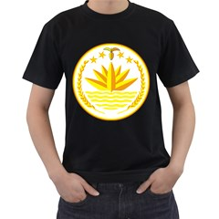National Emblem of Bangladesh Men s T-Shirt (Black)