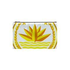 National Emblem of Bangladesh Cosmetic Bag (Small)