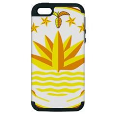 National Emblem of Bangladesh Apple iPhone 5 Hardshell Case (PC+Silicone)