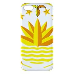 National Emblem of Bangladesh iPhone 5S/ SE Premium Hardshell Case