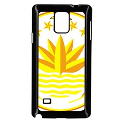 National Emblem of Bangladesh Samsung Galaxy Note 4 Case (Black)