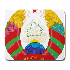 Coat of Arms of The Republic of Belarus Large Mousepads