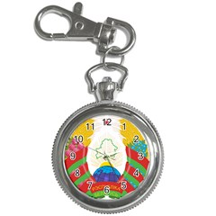 Coat of Arms of The Republic of Belarus Key Chain Watches