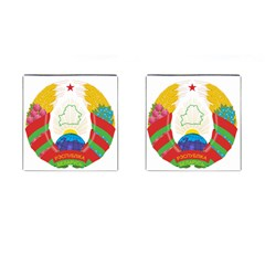 Coat of Arms of The Republic of Belarus Cufflinks (Square)