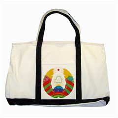 Coat of Arms of The Republic of Belarus Two Tone Tote Bag