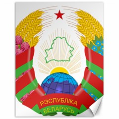 Coat of Arms of The Republic of Belarus Canvas 12  x 16