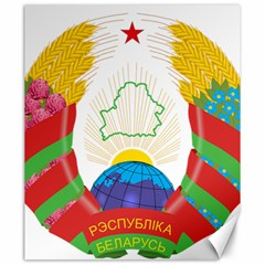Coat of Arms of The Republic of Belarus Canvas 20  x 24