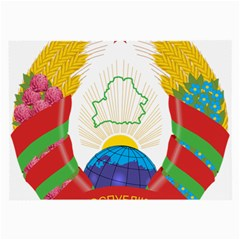 Coat of Arms of The Republic of Belarus Large Glasses Cloth