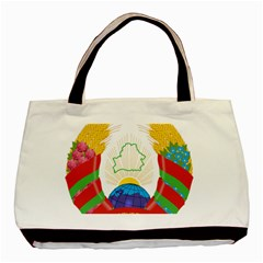 Coat of Arms of The Republic of Belarus Basic Tote Bag (Two Sides)