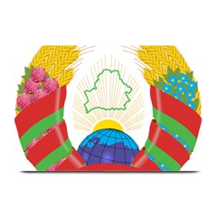 Coat Of Arms Of The Republic Of Belarus Plate Mats